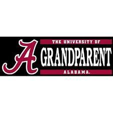 Alabama Grandparent Decal 6