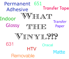 Silhouette Vinyl Types And Transfer Paper Vs Transfer Tape Silhouette School