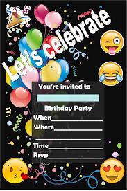 Invitaciones De Emoji