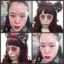 voodoo doll makeup and