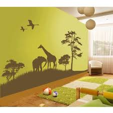 Pin By Wall Decals Wall Stickers On Animal Wall Decals Themed Kids Room Kids Room Murals Kids Room Design