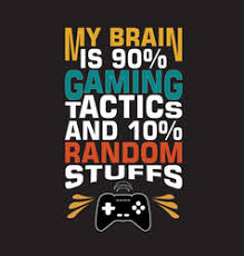 gamers quote vector images over