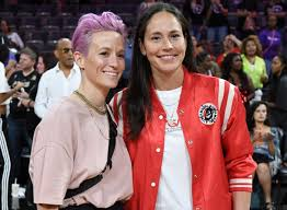 Megan Rapinoe: 'We're everything Trump loves – except that we're powerful  women' | Football | The Guardian