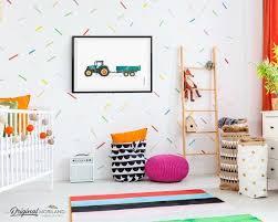 Tractor Printable Wall Art Tractor Printtractor Nursery Boy Etsy Boys Room Decor Toddler Boy Room Decor Kid Room Decor