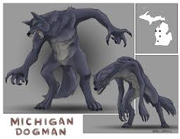 Michigan Dogman Cryptid of the Month-Cryptid World