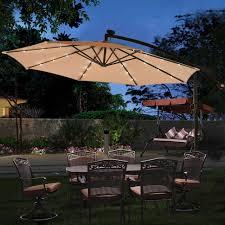 10 patio hanging umbrella sun shade