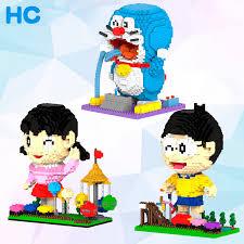 magic diamond building blocks bricks cartoon doraemon shizuka