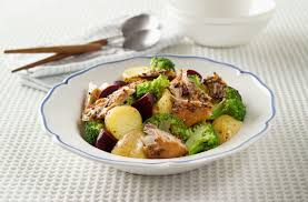 Warm Potato Salad With Smoked Mackerel ...