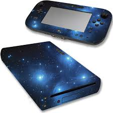 Vwaq Wii U Galaxy Skin Nintendo Wii U Sticker Space Skins Cover Wgc1