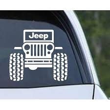 Silly Boys Jeeps Are For Girls Vinyl Decal Sticker Funny Country Girl Muddin 4x4