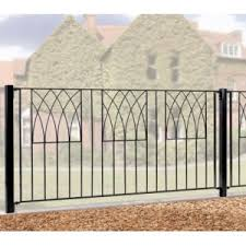Wrought Iron Railings Metal Garden Railings Garden Oasis