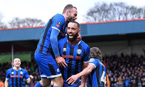 inkl - Rochdale veteran Aaron Wilbraham takes Newcastle to FA Cup replay -  The Guardian - UK