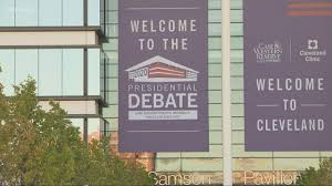 first presidential debate in Cleveland ...