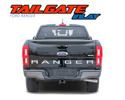 Tailgate Text Ford Ranger Stripes Ford Ranger Decals Ranger Graphics