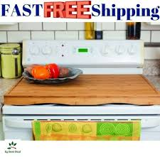 wooden serving tray electric gas glass