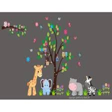 Nursery Wall Decals Wall Stickers Kids Room Nature And Wildlife Wall Decals Animal Wall Prints Zoo Animal Wall Decals