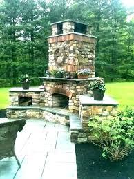backyard fireplace ideas