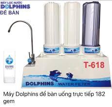 Máy Lọc Nước Công Nghệ Nano Dolphins - Home
