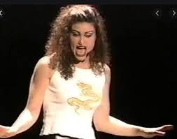 Idina Menzel as Maureen Johnson in Rent – New York Theater
