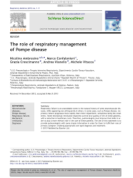 PDF) The role of respiratory management of Pompe disease