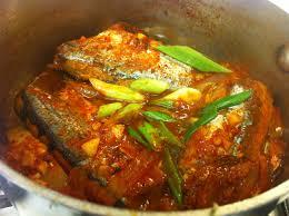 꽁치조림): Spicy Mackerel Pike ...