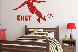 Soccer Vinyl Decals Wall Window Decor For Players Fans Teams Gifts
