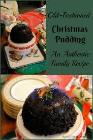 old fashioned christmas pudding recipe j harris