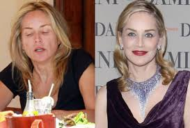 pictures of celebrities without makeup