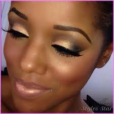natural makeup for dark skin star
