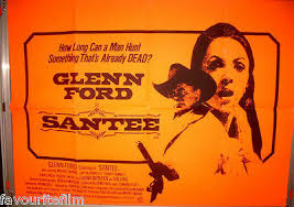 Cinema Poster: SANTEE 1973 (Quad) Glenn Ford Michael Burns Dana Wynter    eBay