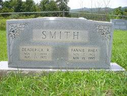 Fannie L. Rhea Smith (1903-1995) - Find A Grave Memorial