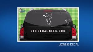 10 Awesome African Wildlife Car Window Decals Stickers Youtube