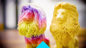 3D printed the fabulous and furry lion ...