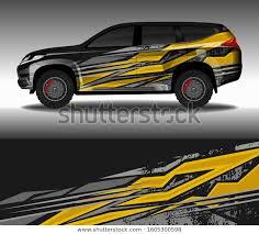 Wrap Car Decal Design Vector Custom Stock Vector Royalty Free 1605300598