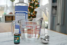 antibacterial cleaning spray