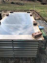 galvanized steel raised beds