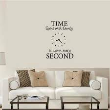 Time Spent With Family Is Worth Every Second Wall Decor Diy Pick Color Ebay