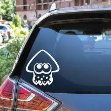 Splatoon Squid Vinyl Decal Sticker Etsy