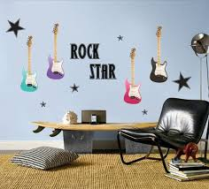 Rock Star Girl Wall Decal Allposters Com