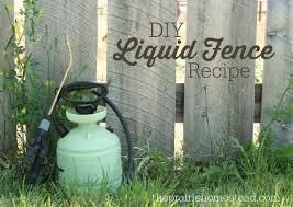 liquid fence recipe the prairie homestead