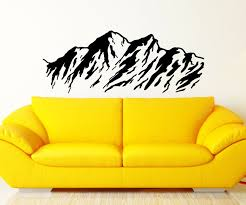 Mountain Wall Decal Nature Scene Decor Decals Market
