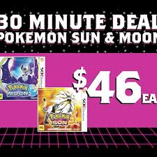 Pokemon Sun & Moon $46, Xbox One S 500GB Bundle $349, PS4 Pro 1TB ...