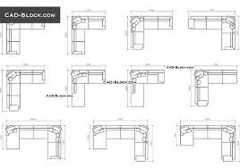 sofas cad blocks free autocad