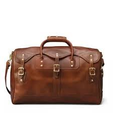 mens overnight leather travel bag