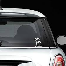 2020 16 14cm Palm Trees And Flamingo Vinyl Decal Sticker Motorcycle Suvs Bumper Car Window Laptop Car Stylings From Xymy777 2 45 Dhgate Com