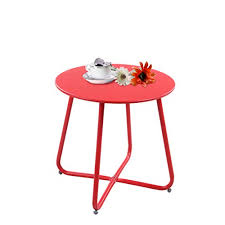 grand patio steel patio side table