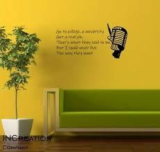 Good Charlotte The Anthem Wall Vinyl Decal Quote Lyrics Sticker Punk Band Mural Ebay