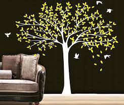 2 2 M Large Birds Family Tree Wall Stickers Vinyl Diy Home Art Mural Living Room Wallpaper Room Wall Decals Decorate Y 66 Wall Decals Family Tree Wall Stickerstree Wall Sticker Aliexpress