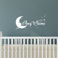 Personalized Name Decal Wall Vinyl Decals Art Home Decor Stickers Nursery Kids Ebay