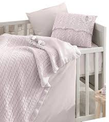 rose garden 6 piece crib bedding set in